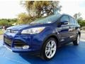2013 Deep Impact Blue Metallic Ford Escape Titanium 2.0L EcoBoost 4WD #92522093