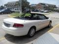2002 Stone White Chrysler Sebring Limited Convertible  photo #3