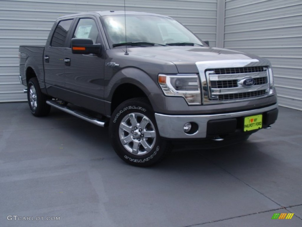 2014 sterling grey ford f150 xlt supercrew 4x4 92522197 car color galleries. Black Bedroom Furniture Sets. Home Design Ideas