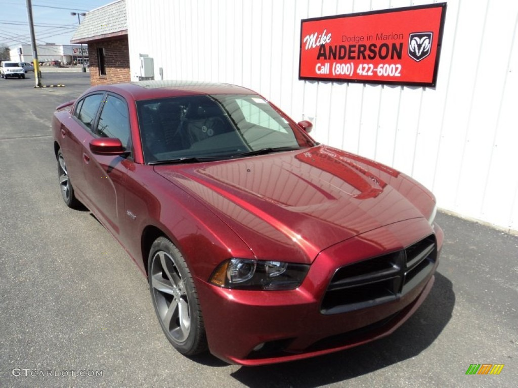 2014 High Octane Red Pearl Dodge Charger R/T Plus 100th ...