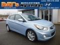 Clearwater Blue 2012 Hyundai Accent SE 5 Door