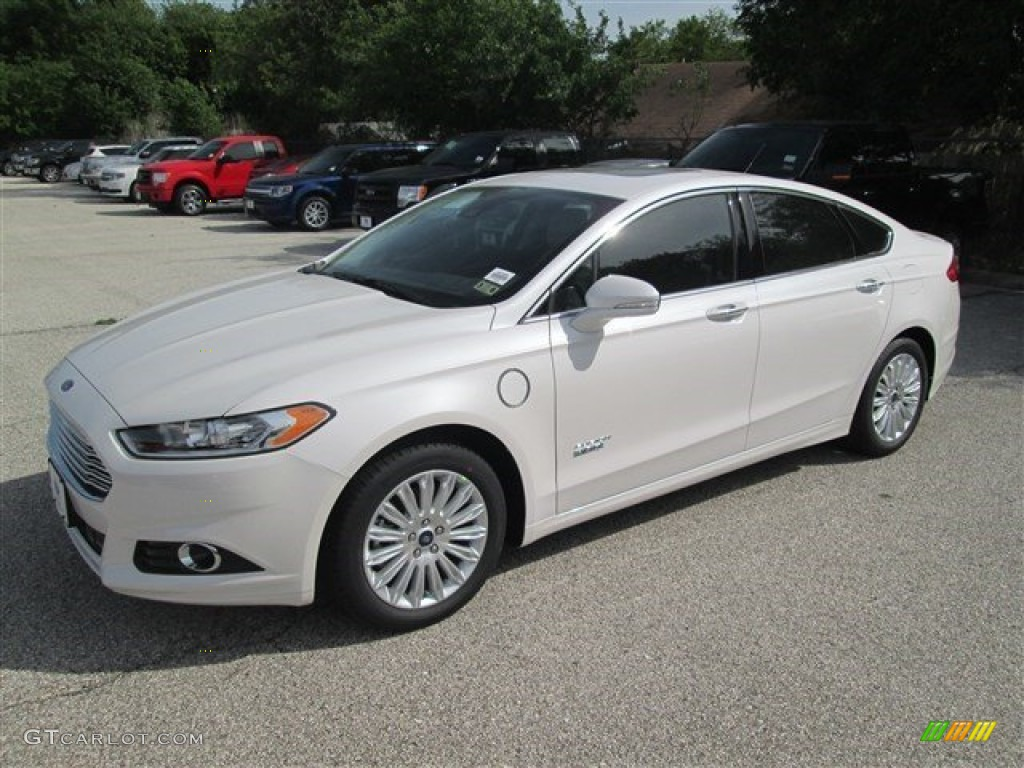 2014 white platinum ford fusion energi titanium 92590494 car color galleries. Black Bedroom Furniture Sets. Home Design Ideas