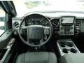 2015 Ford F250 Super Duty Platinum Black Interior Dashboard Photo