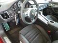 GTS Black Leather/Alcantara w/Carmine Red 2014 Porsche Panamera Interiors