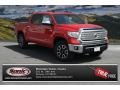 2014 Radiant Red Toyota Tundra Limited Crewmax 4x4  photo #1