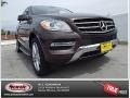 Dakota Brown Metallic 2014 Mercedes-Benz ML 350