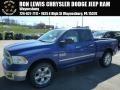 Blue Streak Pearl Coat 2014 Ram 1500 Big Horn Quad Cab 4x4