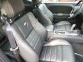 Anniversary Dark Slate Gray/Foundry Black 2014 Dodge Challenger Interiors