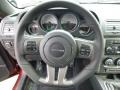 2014 Dodge Challenger Anniversary Dark Slate Gray/Foundry Black Interior Steering Wheel Photo