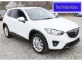 2013 Crystal White Pearl Mica Mazda CX-5 Grand Touring AWD #92651933