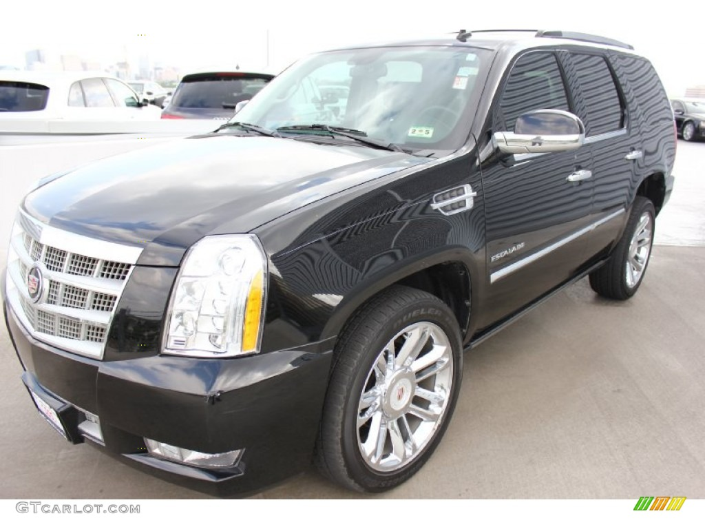 black ice metallic 2012 cadillac escalade platinum awd. Black Bedroom Furniture Sets. Home Design Ideas