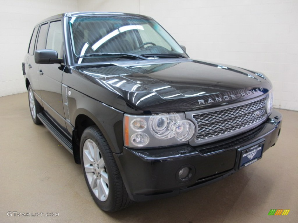 2006 Range Rover Supercharged - Java Black Pearl / Charcoal/Jet photo #1