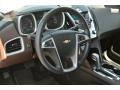Jet Black/Brownstone Dashboard Photo for 2010 Chevrolet Equinox #92751979