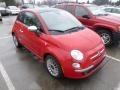 Rosso Brillante (Red) 2012 Fiat 500 Lounge