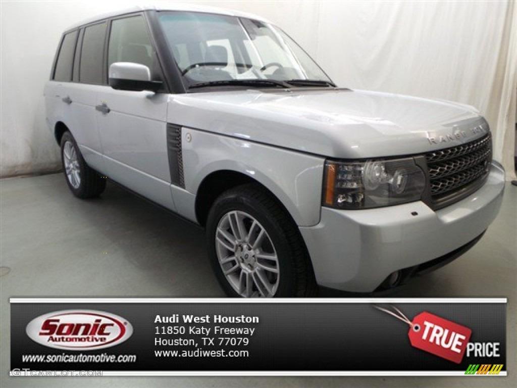2011 Range Rover HSE - Zermatt Silver Metallic / Jet Black/Jet Black photo #1