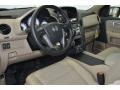 2014 Honda Pilot Beige Interior Interior Photo