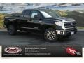 2014 Black Toyota Tundra SR5 TRD Double Cab 4x4  photo #1