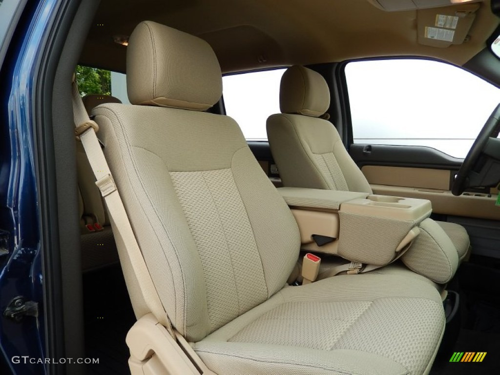 2012 ford f150 xlt supercrew front seat photos. Black Bedroom Furniture Sets. Home Design Ideas