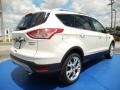 2014 White Platinum Ford Escape Titanium 2.0L EcoBoost  photo #3
