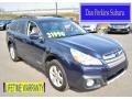 Deep Indigo Pearl 2013 Subaru Outback 2.5i Limited