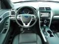 2014 Ford Explorer Sport Charcoal Black Interior Dashboard Photo
