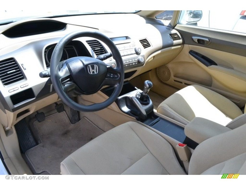 gray interior 2007 honda civic lx sedan photo 92827923. Black Bedroom Furniture Sets. Home Design Ideas