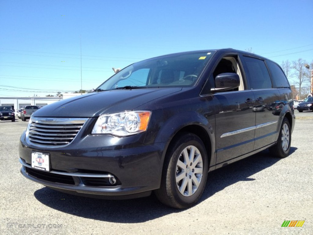 2013 chrysler town and country blue the image kid has it. Black Bedroom Furniture Sets. Home Design Ideas