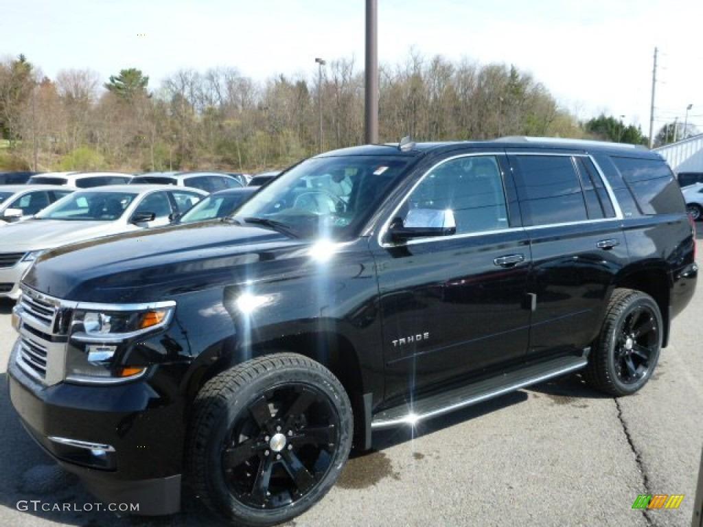 2015 Black Chevrolet Tahoe LTZ 4WD #92832626 | GTCarLot ...