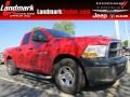 2011 Flame Red Dodge Ram 1500 ST Quad Cab #92832573
