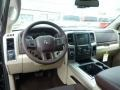 Canyon Brown/Light Frost Beige Dashboard Photo for 2014 Ram 1500 #92873768