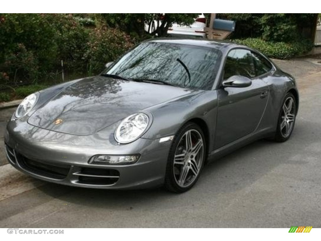 2007 atlas grey metallic porsche 911 carrera 4s coupe. Black Bedroom Furniture Sets. Home Design Ideas