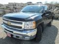 2013 Black Chevrolet Silverado 1500 LT Regular Cab 4x4  photo #2