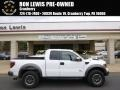Oxford White 2011 Ford F150 SVT Raptor SuperCab 4x4