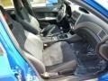 2010 Subaru Impreza Black Alcantara/Carbon Black Leather Interior Interior Photo