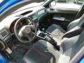 2010 Subaru Impreza Black Alcantara/Carbon Black Leather Interior Prime Interior Photo