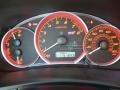 2010 Subaru Impreza Black Alcantara/Carbon Black Leather Interior Gauges Photo