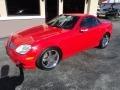 2003 Magma Red Mercedes-Benz SLK 320 Roadster #92917068