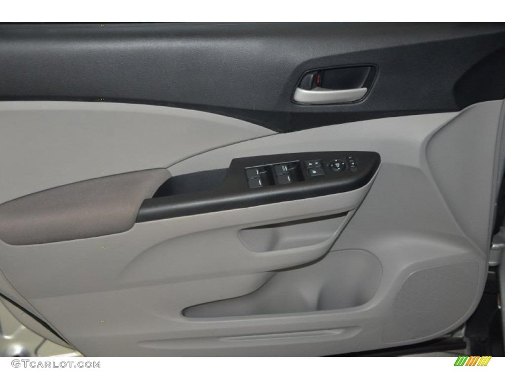 2012 CR-V LX - Alabaster Silver Metallic / Gray photo #11