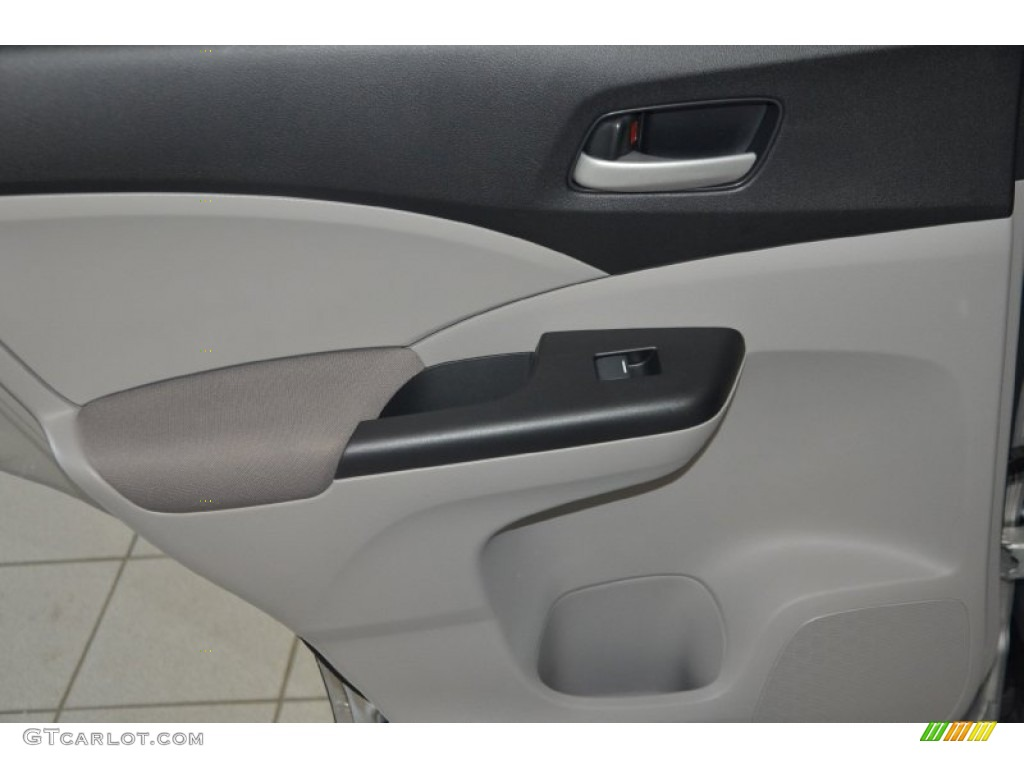2012 CR-V LX - Alabaster Silver Metallic / Gray photo #19