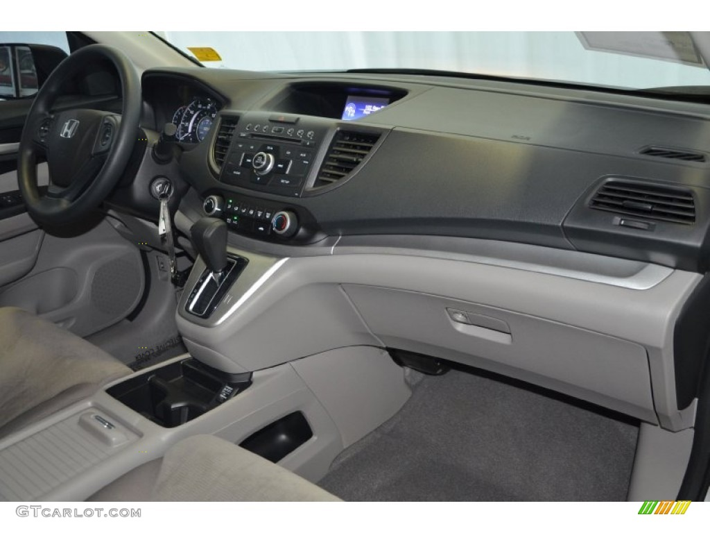 2012 CR-V LX - Alabaster Silver Metallic / Gray photo #29