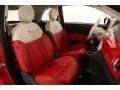 Pelle Rossa/Avorio (Red/Ivory) 2012 Fiat 500 Interiors