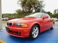 Front 3/4 View of 2002 3 Series 325i Convertible