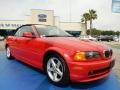 Electric Red - 3 Series 325i Convertible Photo No. 7