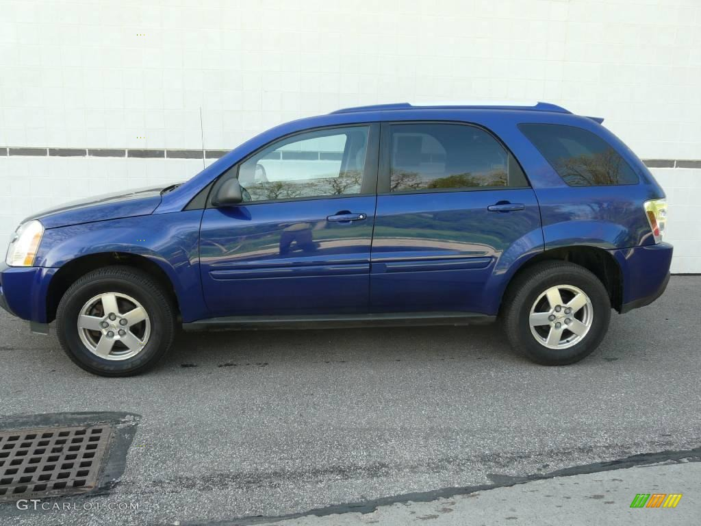 Chevy Equinox Paint Color Laser Metallic Blue