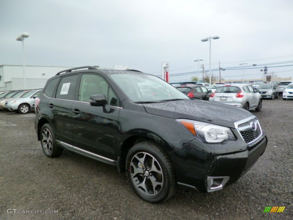 2015 crystal black silica subaru forester 2 0xt touring. Black Bedroom Furniture Sets. Home Design Ideas