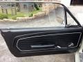 1968 Ford Mustang Black Interior Door Panel Photo