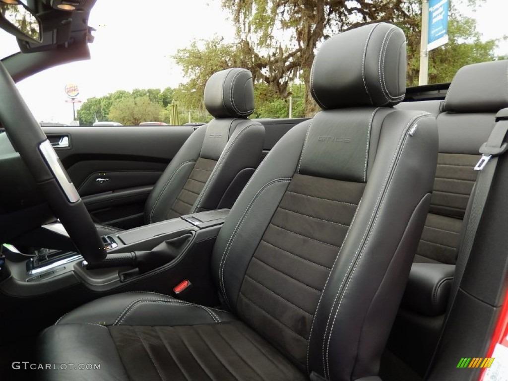 2013 ford mustang gt cs california special convertible front seat photo 93014694 gtcarlot com