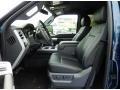 2015 Blue Jeans Ford F250 Super Duty Lariat Crew Cab 4x4  photo #6