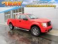 Vermillion Red 2013 Ford F150 Gallery