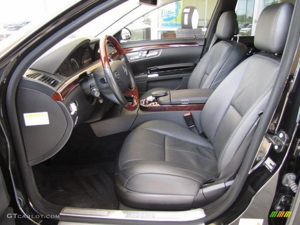 2008 Mercedes Benz S 550 Sedan Interior Color Photos